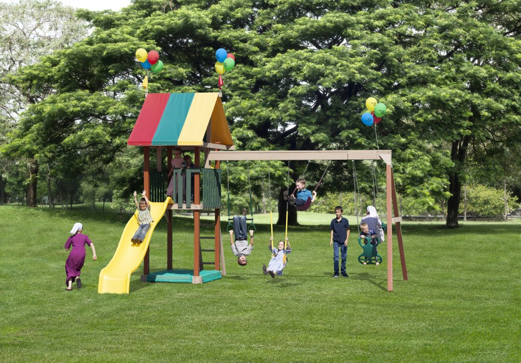 Amish Wooden Swing Sets Pittsburgh Swing Sets And Amish