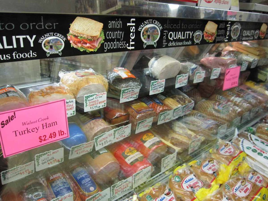 Deli Meats and cheeses at Kauffmans