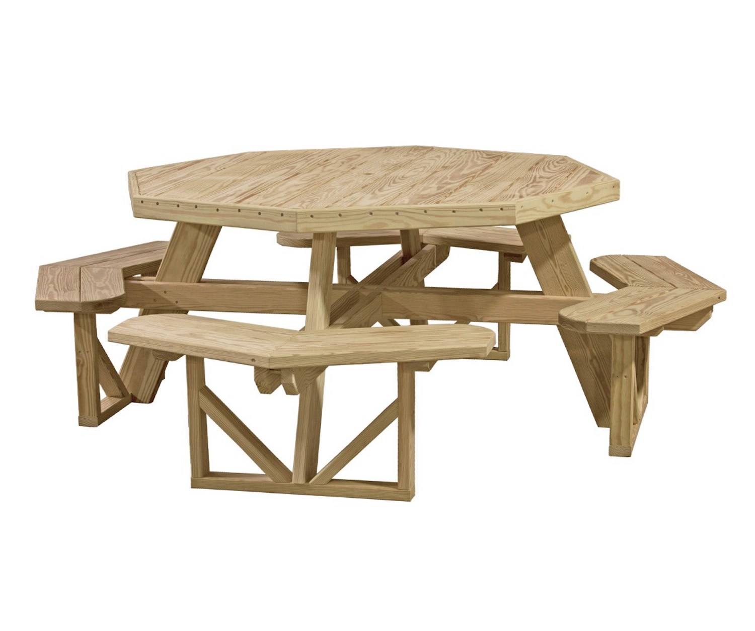 Wooden Lawn Furniture Tables Pittsburgh Swing Sets And Amish Lawn - Wooden picnic table without benches